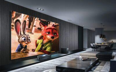 Crea una experiencia de cine en casa