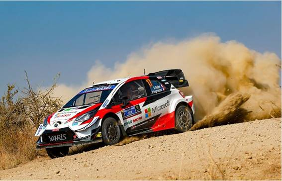 Rally México fuera del calendario WRC 2021