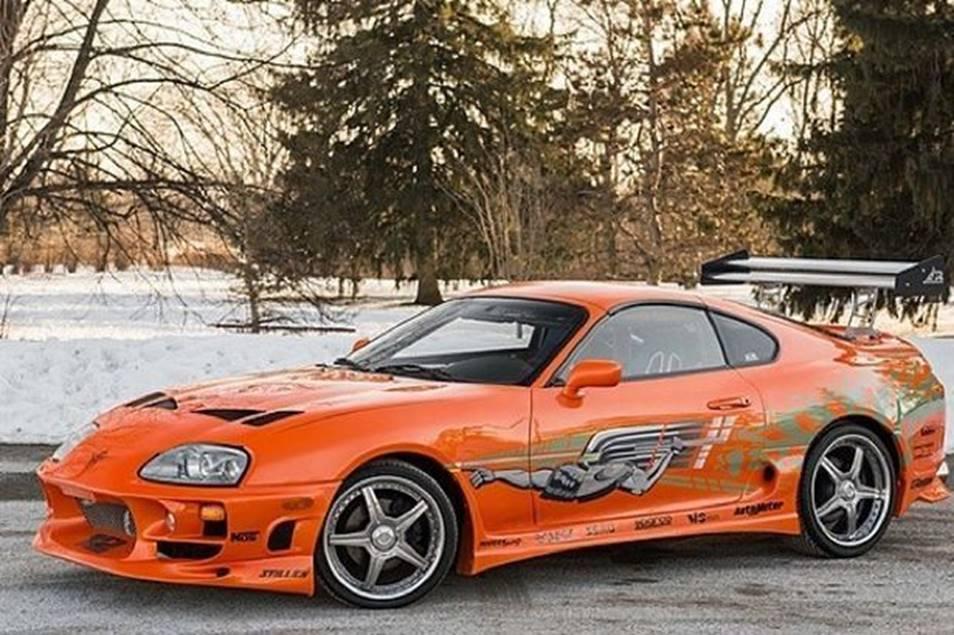Autos Toyota de película Supra