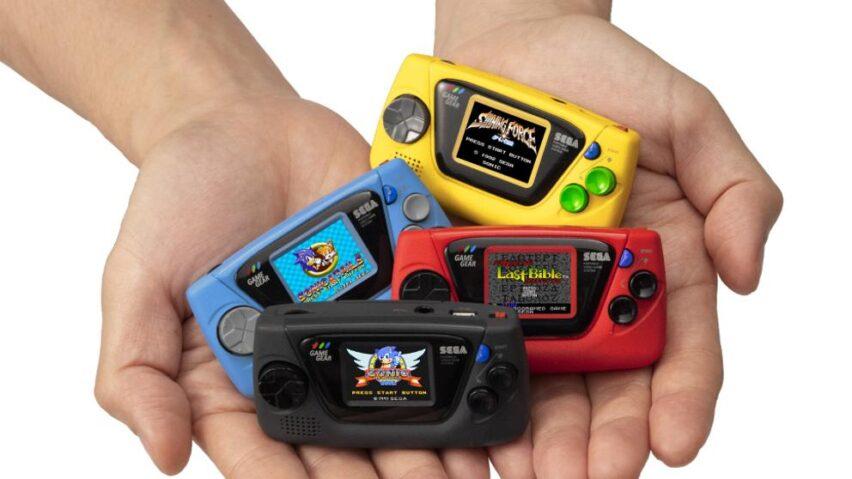 Sega Game Gear Micro: la mejor mini consola