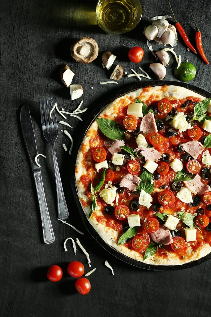 receta de pizza de sartén