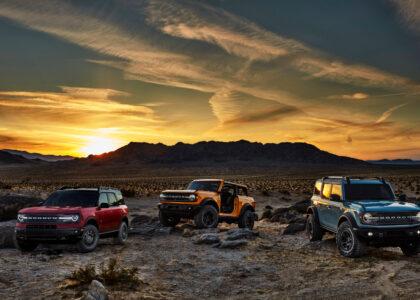 Ford Bronco 2021 lista para todos los caminos