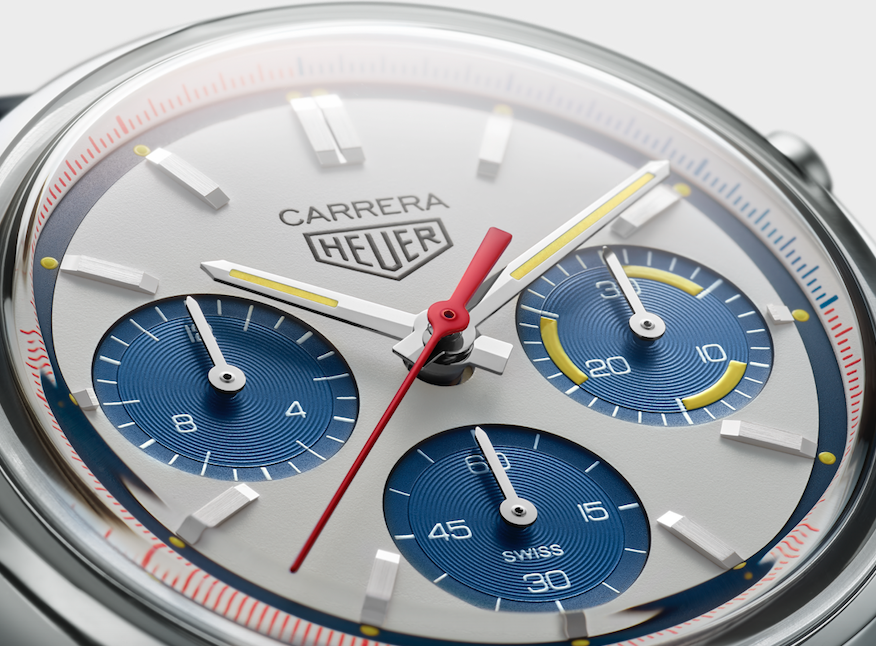 TAG Heuer Carrera 160 Years Montreal Close UP