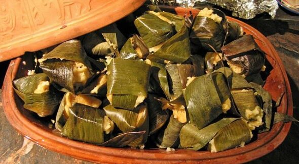Viaja con esta receta de corundas michoacanas
