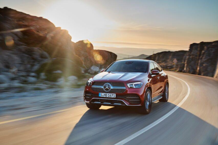 Mercedes-Benz GLS y GLE Coupé con mild-hybrid