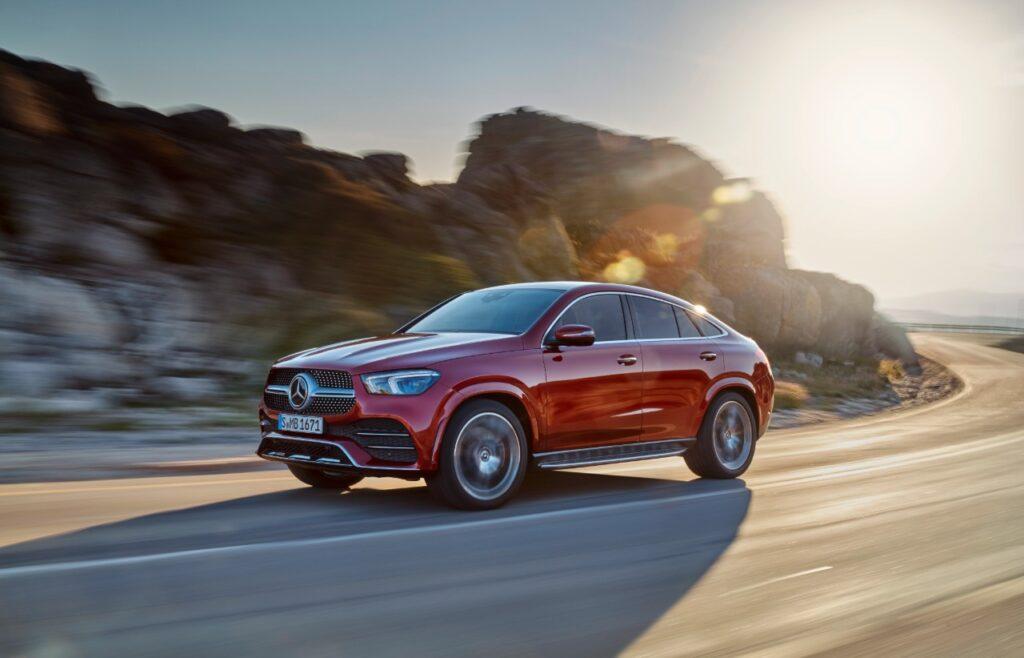 Mercedes-Benz GLS y GLE Coupé.