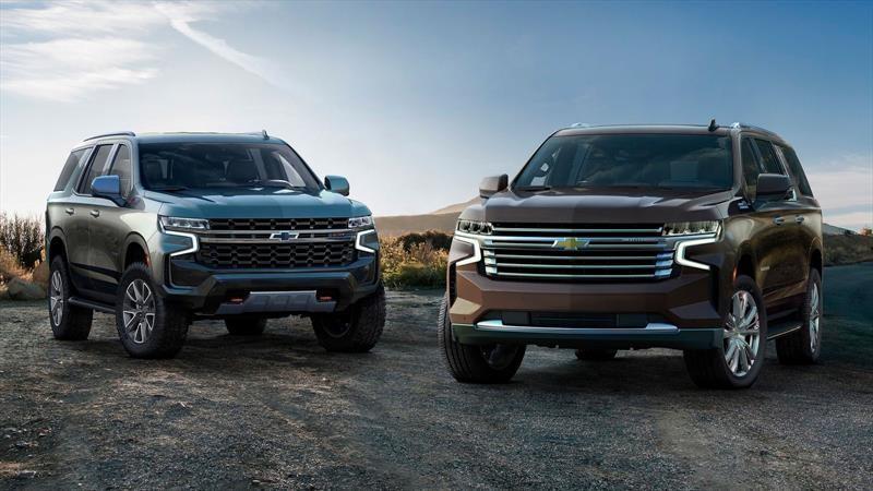Chevrolet Tahoe y Chevrolet Suburban llegan en septiembre