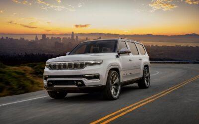 Grand Wagoneer Concept lo más premium de Jeep
