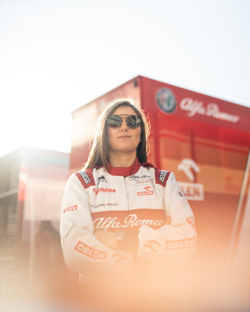 Tatiana Calderón en Most Wanted