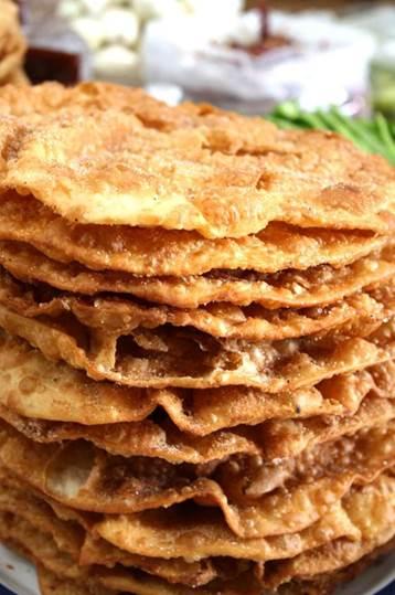 receta de buñuelos en sartén