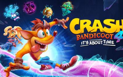 Crash Bandicoot 4 It´s About Time está disponible