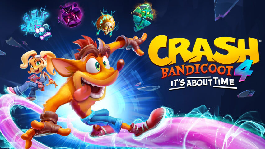 Crash Bandicoot 4 It´s About Time está disponible