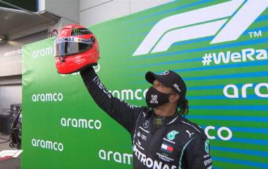 Hamilton empata a Schumacher en triunfos