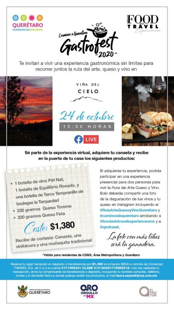 Caminos de Querétaro Gastrofest