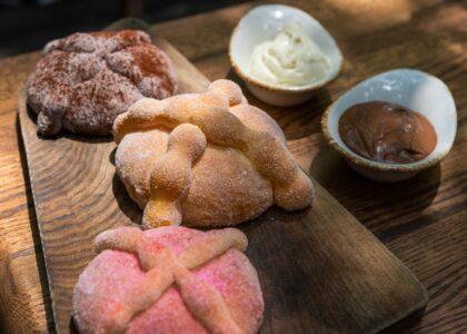 Receta de pan de muerto del chef Pablo Carrera