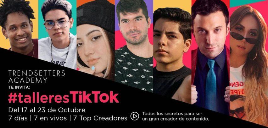 #talleresTikTok para crecer en esta red social