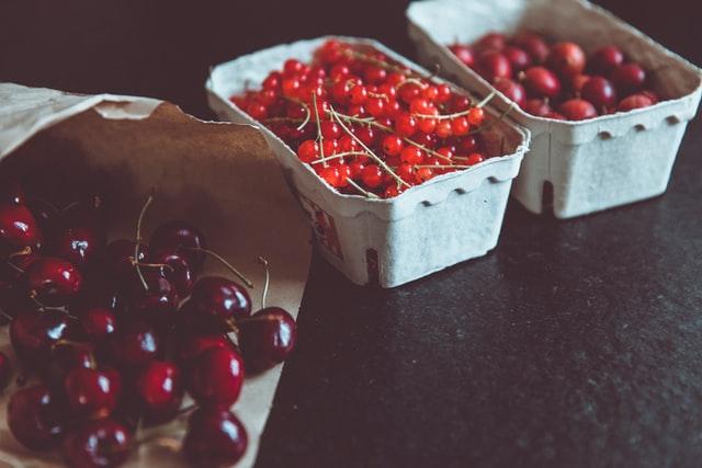 frutas para maridaje de vinos