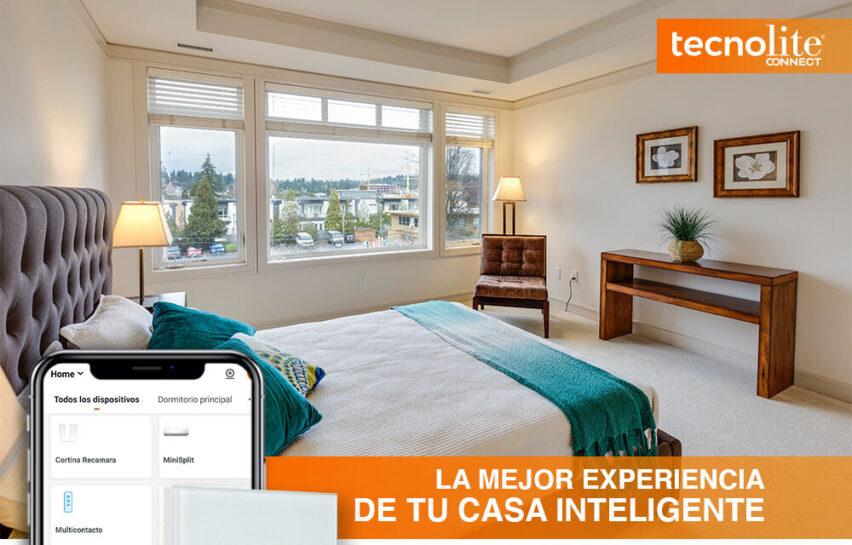 Tecnolite Connect te da un hogar inteligente