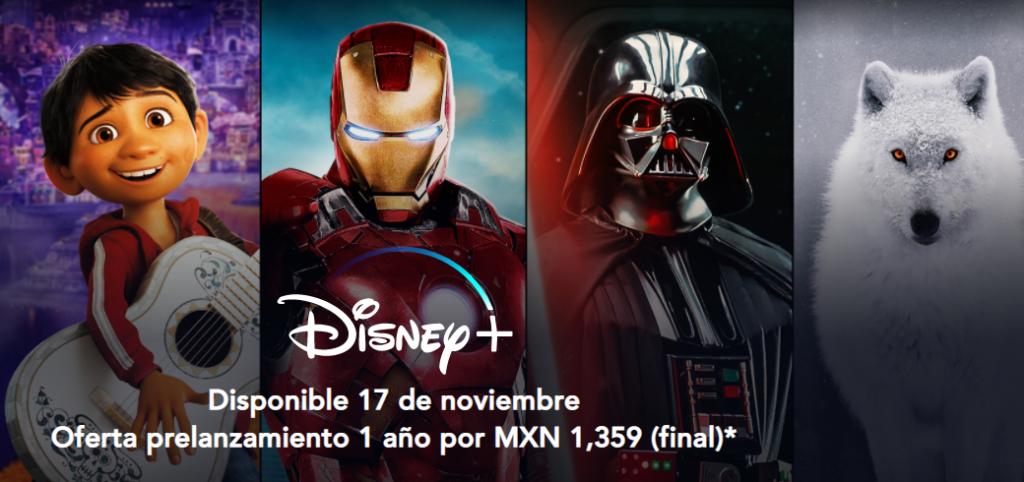 Preventa Disney Plus México ha iniciado