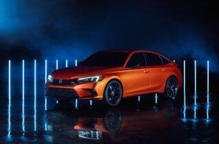 Honda Civic 2022 Concept se presenta en Twitch