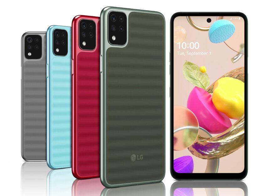 LG Serie K reinventa la gama media