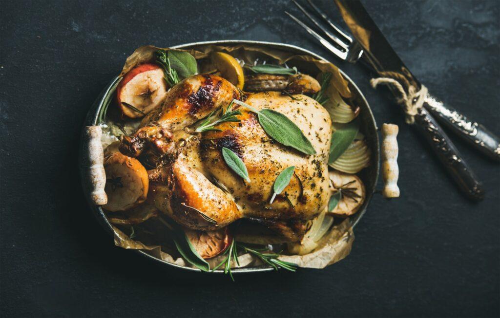 receta de pavo relleno