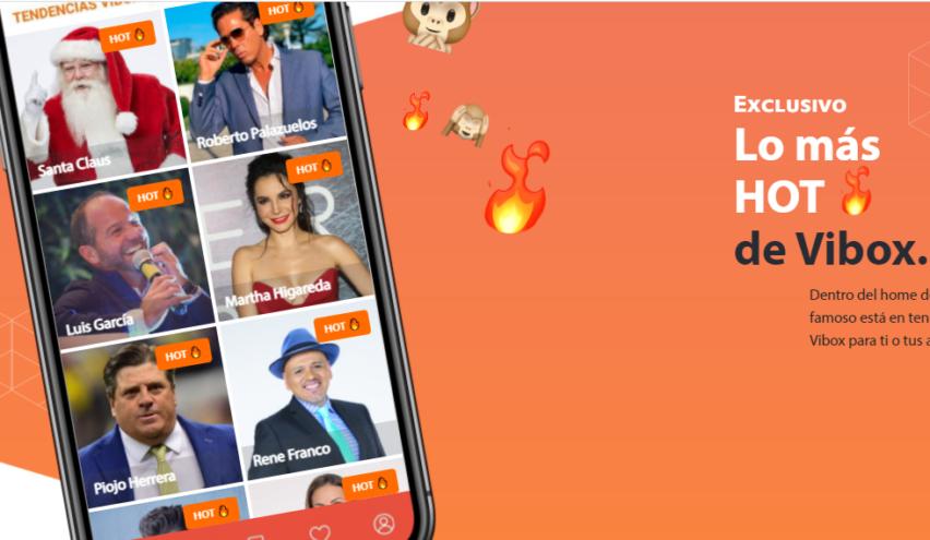 Vibox: la app que te acerca a los famosos