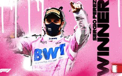 Checo Pérez gana en el Gran Premio de Sakhir
