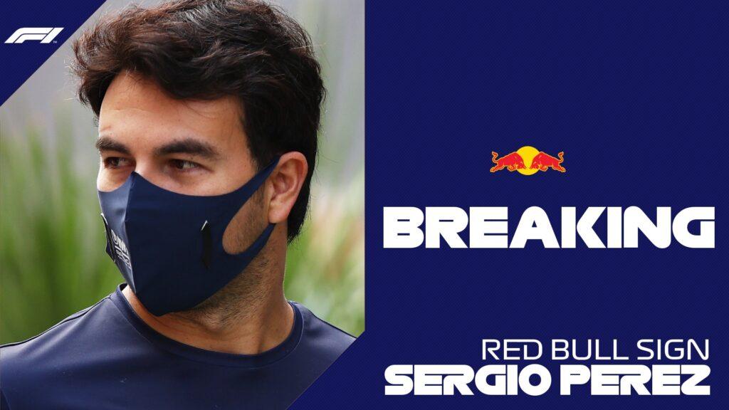 Checo Pérez a Red Bull