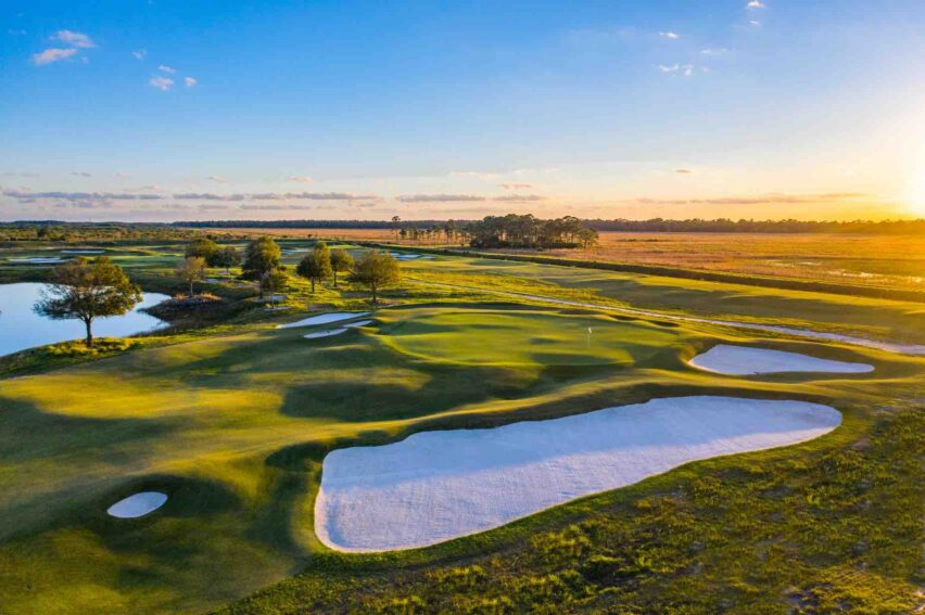 The Groove XXIII: campo de golf de Michael Jordan