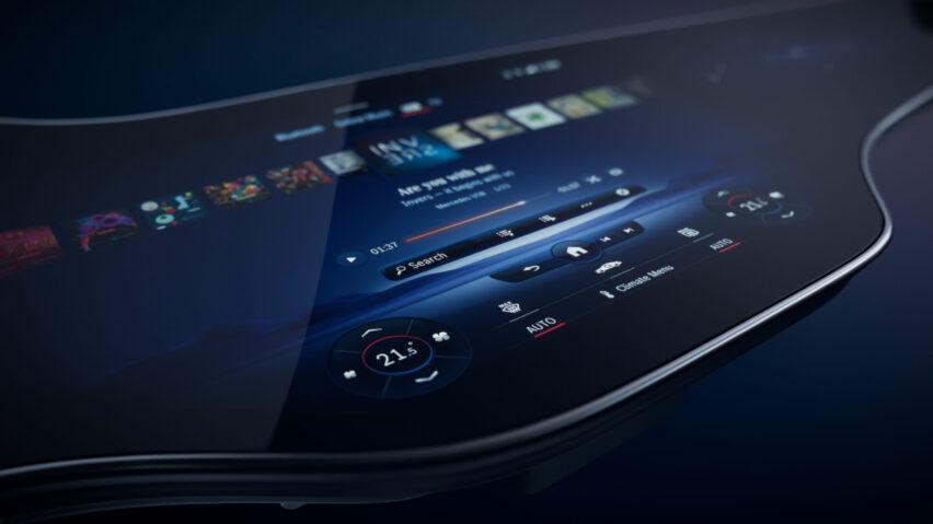 MBUX Hyperscreen: lo más nuevo en tecnología