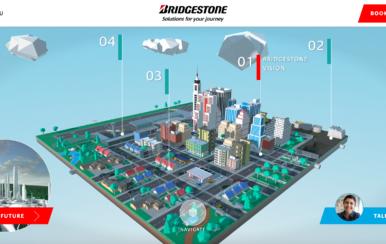 Bridgestone World, la ciudad virtual del futuro