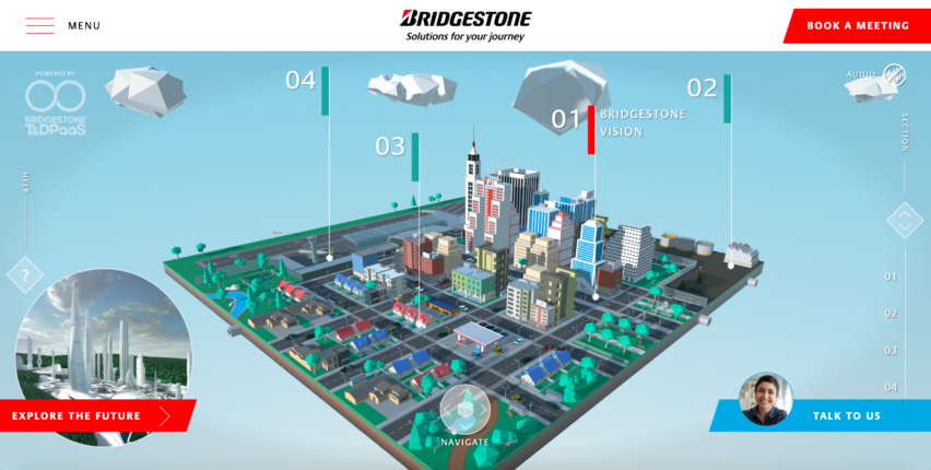 Bridgestone World, la ciudad virtual del futuro