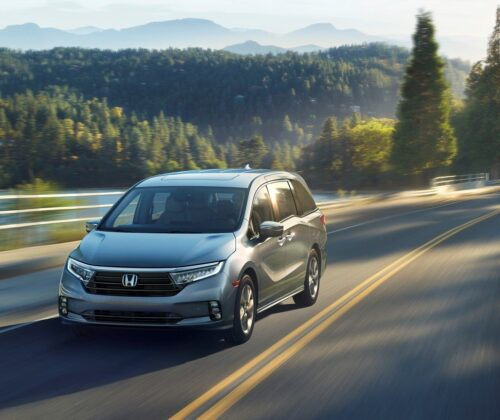 Honda Odyssey 2021 más premium que nunca