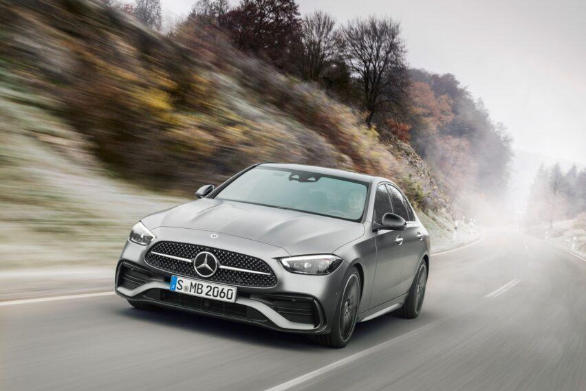 Mercedes-Benz Clase C rompe todos los límites