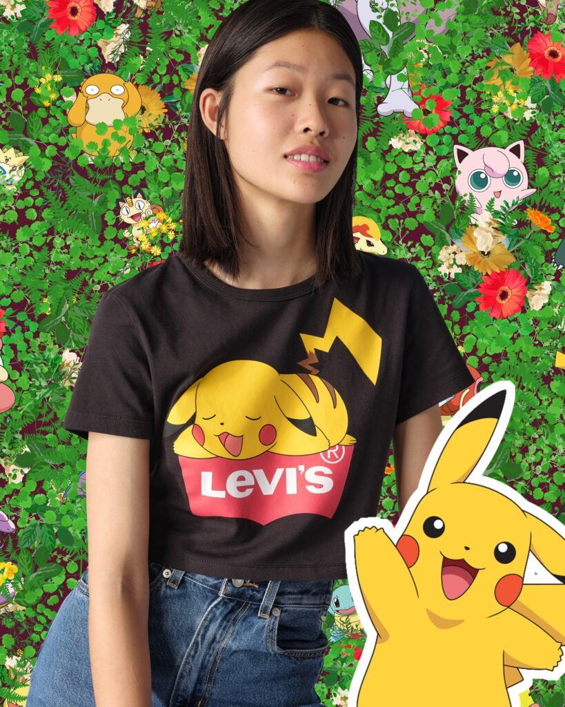 Levi's x Pokémon