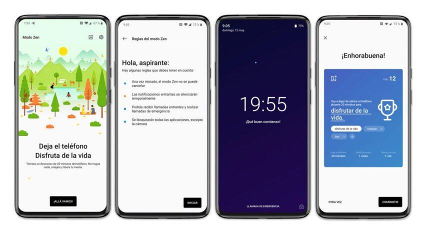 OnePlus Zen Mode ayuda a descansar en la noche