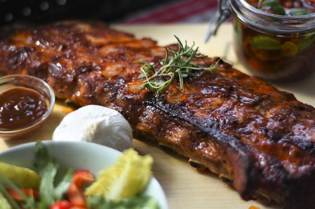Receta Costillas de cerdo BBQ