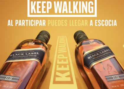 Walk with Johnnie, Johnnie Walker premia tu amor
