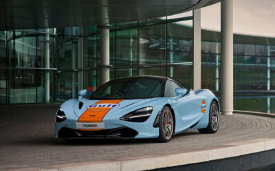 McLaren 720S se pinta de Gulf: inigualable