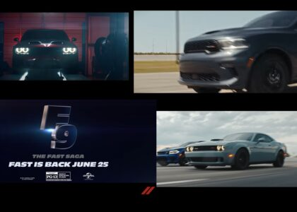 Dodge Charger será parte de Fast & Furious F9