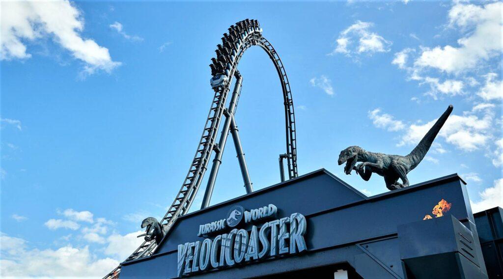 Velocicoaster de Universal Studios Orlando