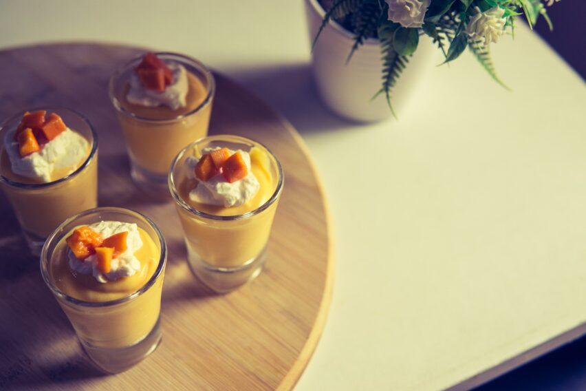 Receta de mousse de mango: un gran postre