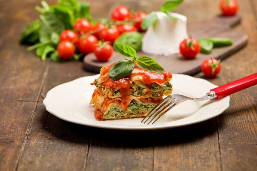 Receta de lasaña vegetariana fácil con Hunt's
