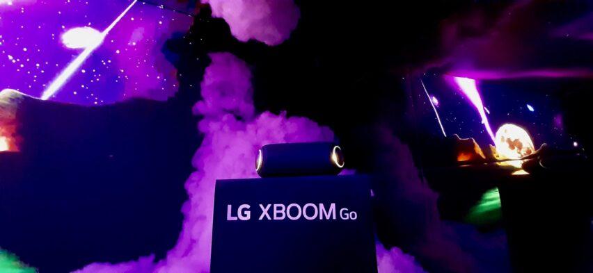 LG XBOOM GO PL7 suena en Fantasy Lab