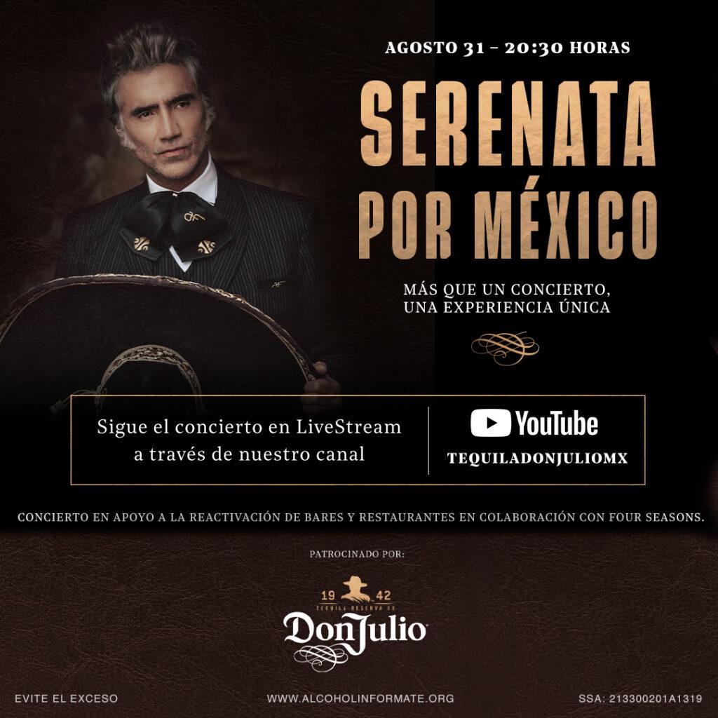 Serenata por México con Alejandro Fernández