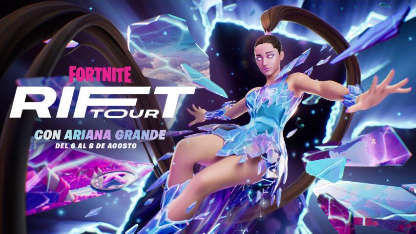 Rift Tour Fortnite tendrá a Ariana Grande