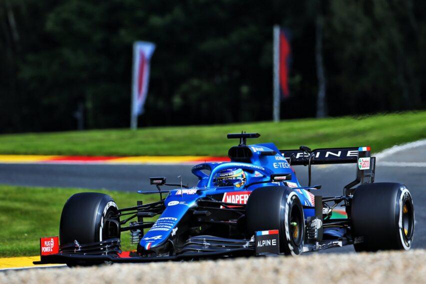 Fernando Alonso en Alpine F1 Team para 2022