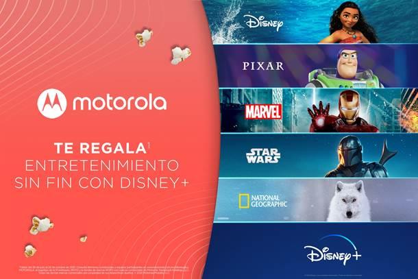Motorola regala Disney Plus