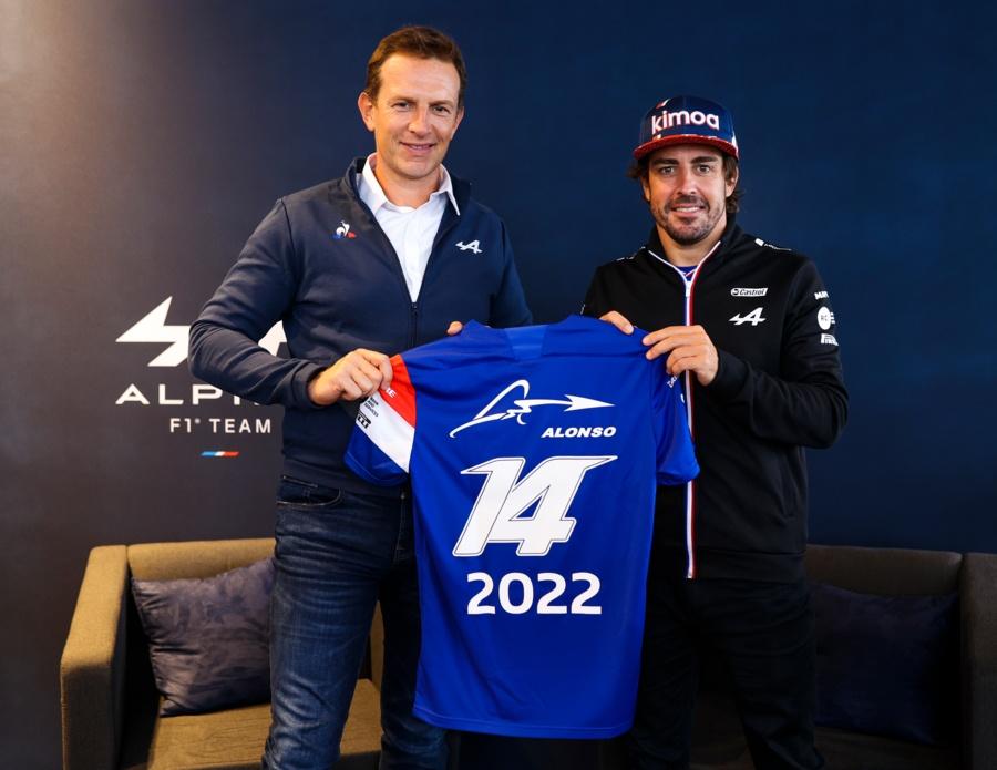 fernando alonso en alpine f1 2022